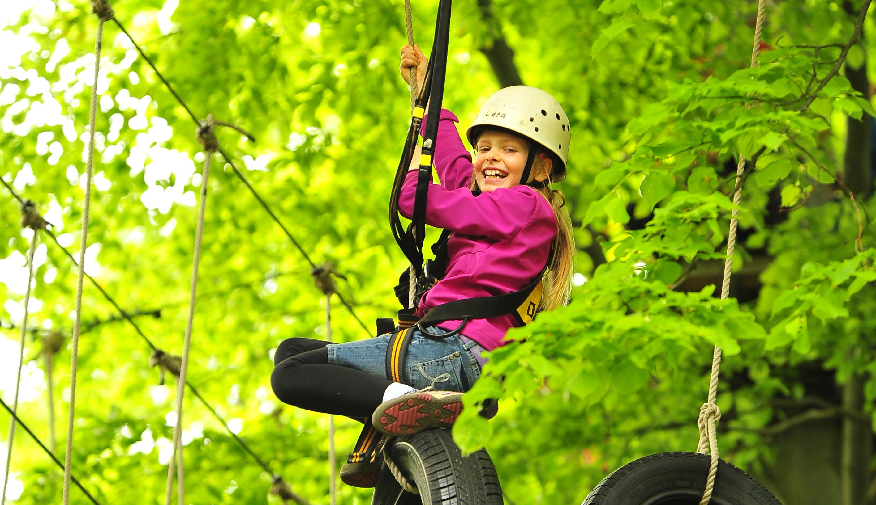 Kletterausrüstung Kiel : High spirits hochseilgarten kiel der kinderparcours
